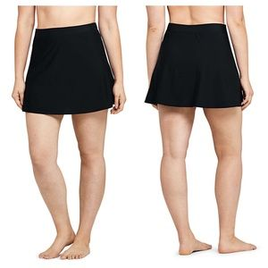 Lands end swim skirt bottoms tummy control
